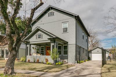 Houston Single Family Home For Sale: 927 Highland Street
