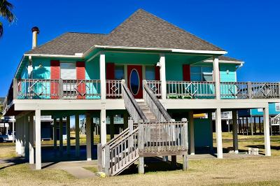Crystal Beach Single Family Home For Sale: 3100 Patty