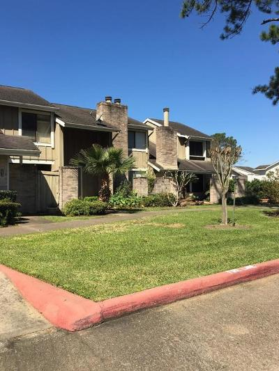 Houston Condo/Townhouse For Sale: 12016 Willow Trail