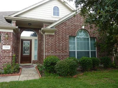 Houston Single Family Home For Sale: 2914 Westerfield Lane