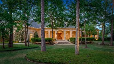 The Woodlands Single Family Home For Sale: 19 Player Bend Drive