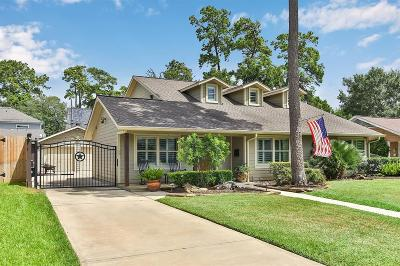 Houston Single Family Home For Sale: 1232 Thornton Road