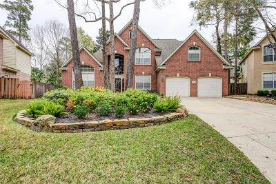 The Woodlands TX Single Family Home For Sale: $487,500