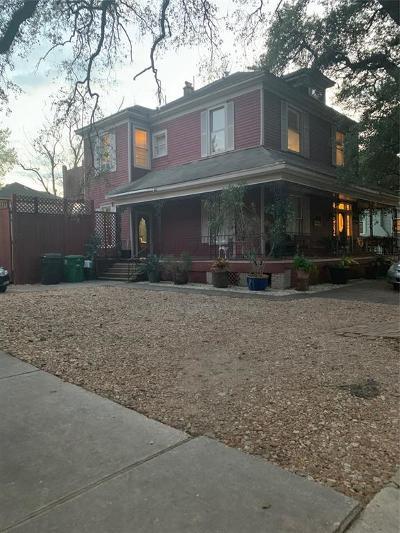 Houston TX Single Family Home For Sale: $950,000