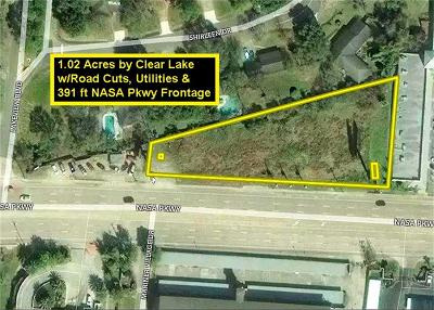 Seabrook Residential Lots & Land For Sale: E Nasa Parkway