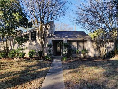 Houston Single Family Home For Sale: 11903 Barrytree Drive