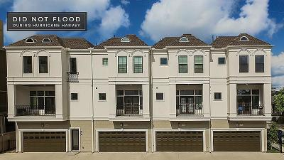 Upper Kirby Condo/Townhouse For Sale: 2313d Richton