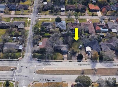 Houston Residential Lots & Land For Sale: 610 Edgebrook Drive