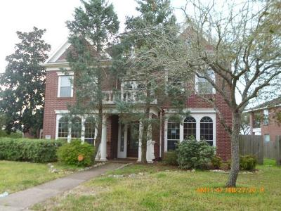 Pearland Single Family Home For Sale: 2811 Dixon Drive