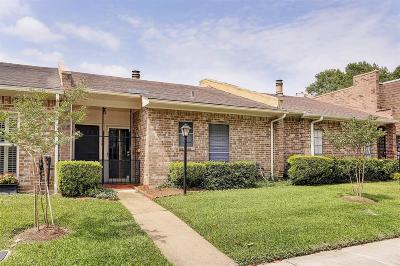 Bellaire Condo/Townhouse For Sale: 4430 Basswood Lane