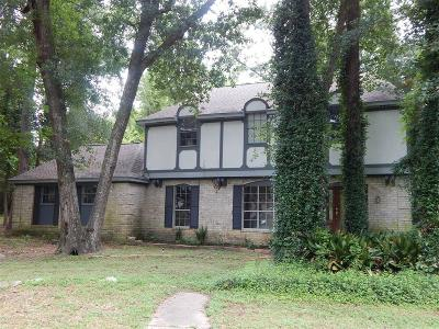 Conroe Single Family Home For Sale: 755 Holly Springs Drive