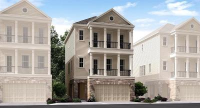 Houston Single Family Home For Sale: 1406 Adell Rose