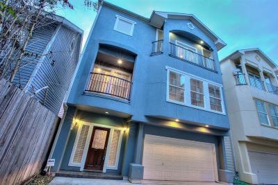 Single Family Home For Sale: 3011 Houston Avenue #F