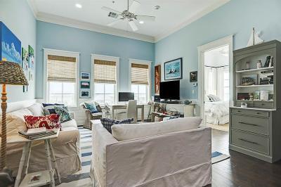 Galveston Condo/Townhouse For Sale: 1625 E Beach Drive #4C