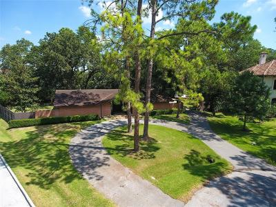 Hedwig Village Single Family Home For Sale: 30 Hedwig Circle