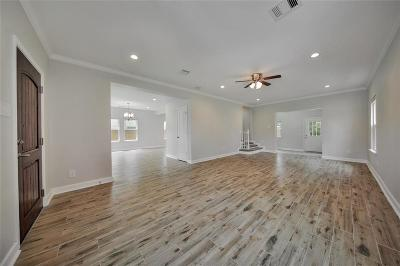 Houston Single Family Home For Sale: 2616 Rosewood Street