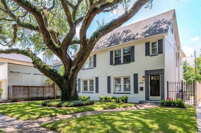 West University Place Single Family Home For Sale: 3209 Robinhood Street