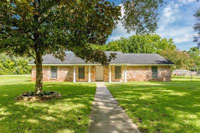 Alvin Single Family Home For Sale: 7018 Bluebird Lane