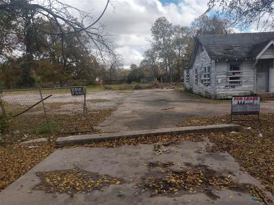 Residential Lots & Land For Sale: 5810 Kashmere Street