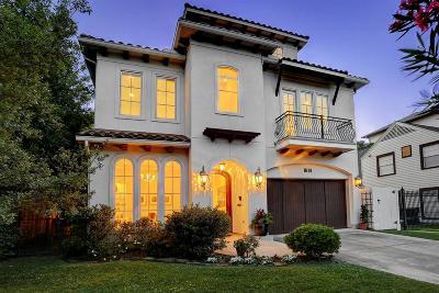 Houston Single Family Home For Sale: 1614 Morse Street