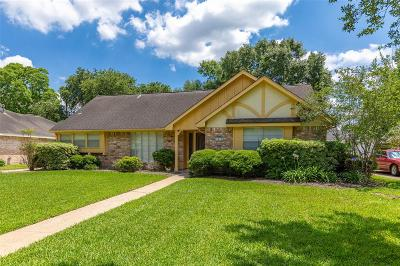 Katy Single Family Home For Sale: 1015 Dominion Drive