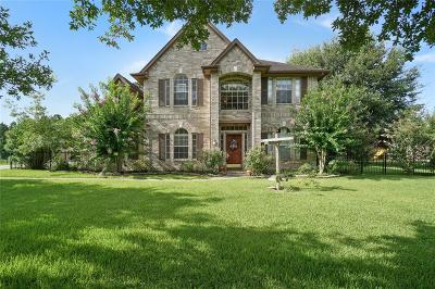 Tomball Single Family Home For Sale: 17607 S Yaupon Circle