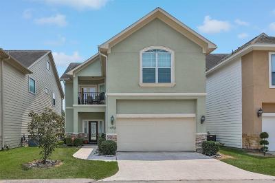 Houston Single Family Home For Sale: 1493 Silverado Drive