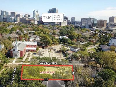 Houston Residential Lots & Land For Sale: 6500 Greenbriar Drive