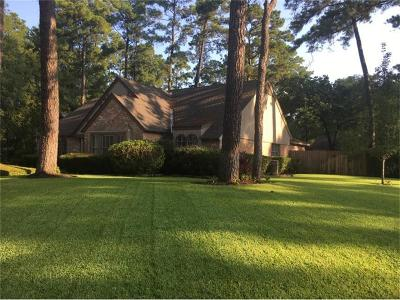 Kingwood Single Family Home For Sale: 1907 Southern Pines Drive