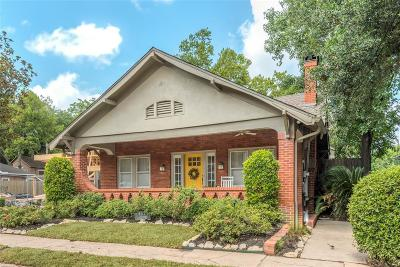 Houston Single Family Home For Sale: 4312 Greeley Street