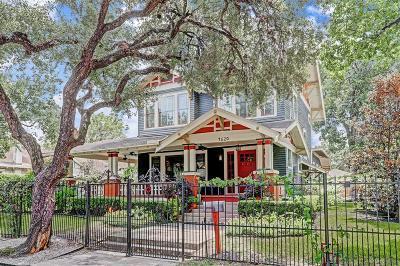 Single Family Home For Sale: 4620 McKinney Street