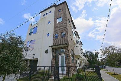 Houston Single Family Home For Sale: 828 Fowler Street