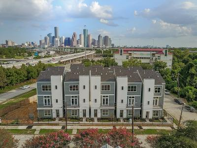 Houston Condo/Townhouse For Sale: 1207 Wrightwood