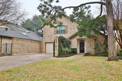 Houston Single Family Home For Sale: 2701 Glen Haven Boulevard