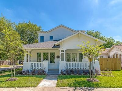 Houston Single Family Home For Sale: 612 Cordell Street