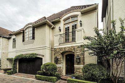 Houston Single Family Home For Sale: 9139 Buffalo Speedway