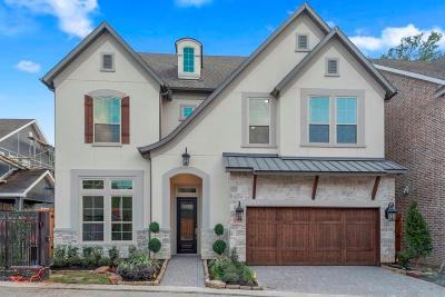 Houston TX Single Family Home For Sale: $900,540