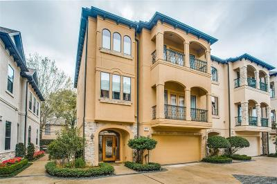 Houston Single Family Home For Sale: 1811 Nantucket Drive #A