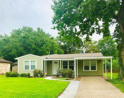 Houston Single Family Home For Sale: 7438 Parker Road