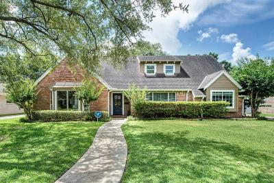 Houston Single Family Home For Sale: 7623 Pagewood Lane