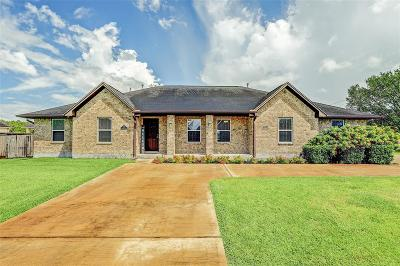Alvin Single Family Home For Sale: 3359 Clearwood Circle