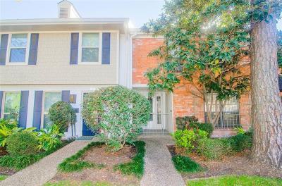 Houston TX Condo/Townhouse For Sale: $180,000