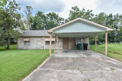 Houston TX Single Family Home For Sale: $109,900