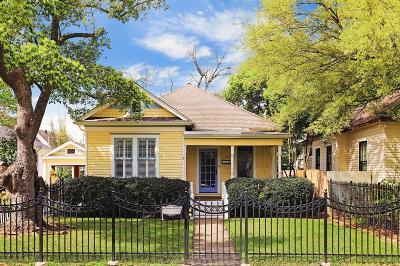 Houston Single Family Home For Sale: 1819 Columbia Street