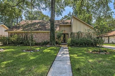 Kingwood Single Family Home For Sale: 1834 Shadow Rock Drive