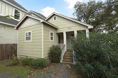 Houston Single Family Home For Sale: 616 Rutland Street