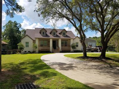 Dickinson Single Family Home For Sale: 3828 Bayou Circle