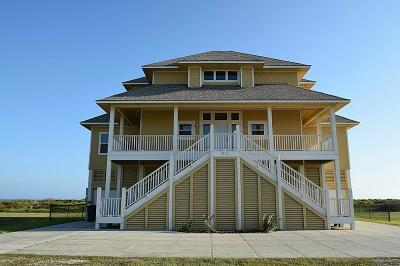Crystal Beach Single Family Home For Sale: 3322 Treasure Lane