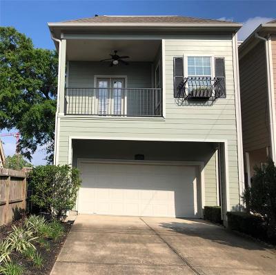 Houston Single Family Home For Sale: 1420 Nashua Street
