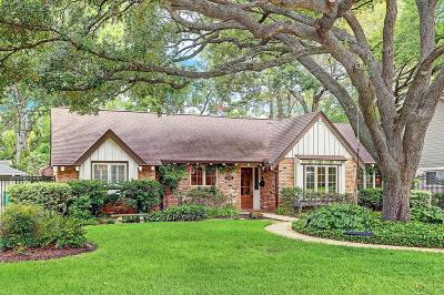 Houston TX Single Family Home For Sale: $639,000